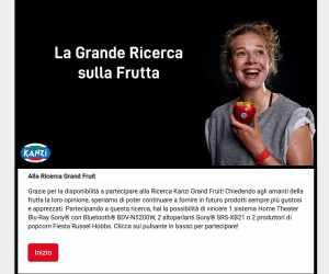 Sondaggio Big Fruit Italia 2020 Kanzi®