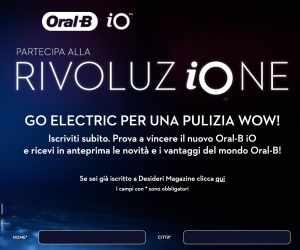 PARTECIPA ALLA RIVOLUZIONE ORAL-B