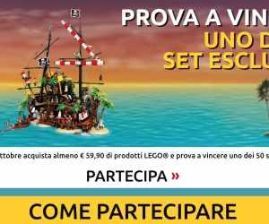 GRANDE CONCORSO VINCI I PIRATI LEGO®!