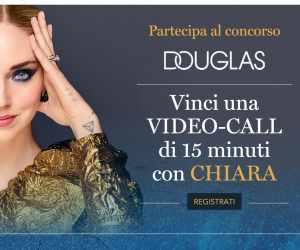 Vinci una video call con Chiara e DOUGLAS