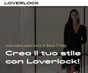 Buono Sconto LOVERLOCK del 15% in omaggio
