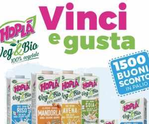 Vinci&Gusta con Hoplà Veg&bio. Tutto il buono del vegetale, tutto il benessere del biologico