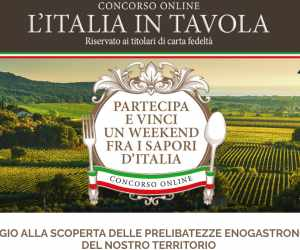 L'ITALIA IN TAVOLA - FAMILA