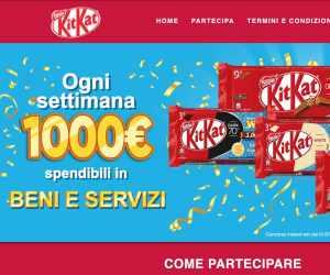 Kitkat HAVE A BREAK & WIN