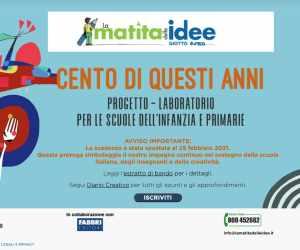 Premio Giotto La Matita delle Idee - CENTO DI QUESTI ANNI - ottava edizione