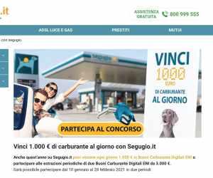 Pieno da 1.000 euro con Segugio.it