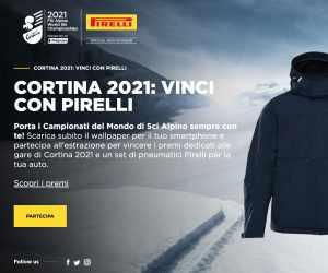 Cortina 2021: vinci con Pirelli