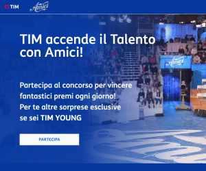 TIM ACCENDE IL TALENTO CON AMICI
