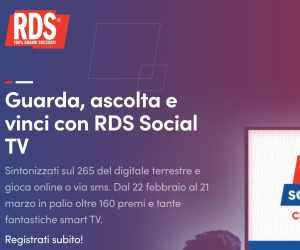 RDS SOCIAL TV – II EDIZIONE