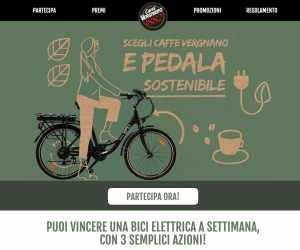 Scegli Caffè Vergnano e pedala sostenibile