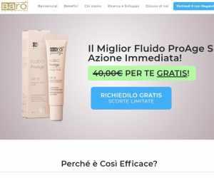 Barò Cosmetics PROVA GRATUITA - Fluido ProAge