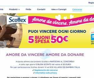 SCOTTEX: AMORE DA VINCERE, AMORE DA DONARE