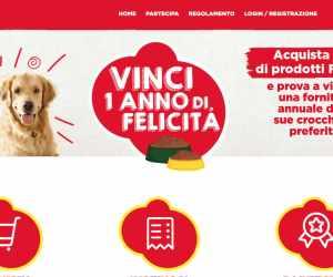 FRISKIES VINCI UN ANNO DI FELICITA'