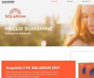 Hello, sunshine! Concorso Solarium