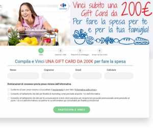 RISPONDI E VINCI 2021-2022 - GIFT CARD DA 200€