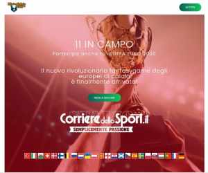 Mistercalcio Cup Europei –11 in Campo