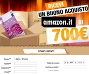 CLICK & WIN! - BUONO AMAZON DA 700 EURO