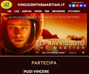 Vinci la Giordania con The Martian e UCI Cinemas
