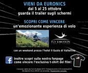 Vinci fantastici premi con The Walk e Euronics