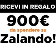 THE WINNER IS - BUONO ACQUISTO ZALANDO DA 900 EURO