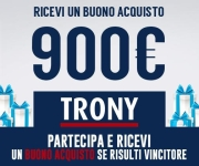 THE WINNER IS - BUONO ACQUISTO TRONY DA 900 EURO