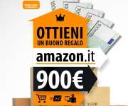 THE WINNER IS - BUONO ACQUISTO AMAZON DA 900 EURO