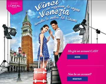 vinci un soggiorno da sogno a venezia 2014 - cad/target ... - Vinci Un Soggiorno Da Sogno A Venezia