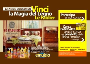GRANDE CONCORSO VINCI LA MAGIA DEL LEGNO LE FABLIER - A.Sutter ...