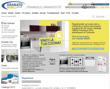 VINCI LA TUA CUCINA CON GRANATO MOBILI - Granato Mobili S.r.l. ...