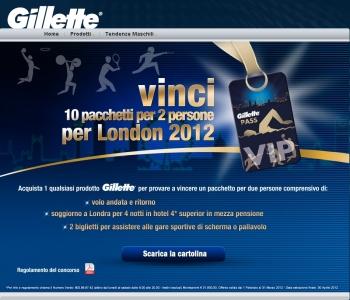 Vinci con Gillette un\'esperienza per 2 per Olimpiadi di ...