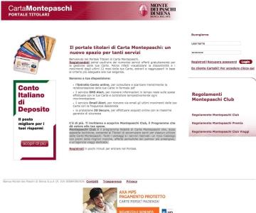 Programma Fedeltà Montepaschi Club E Raccolta Punti Catalogo