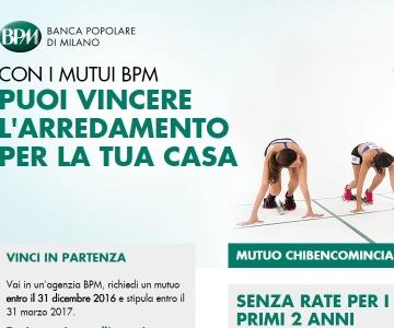 Concorso A Premi Bpm Banca Popolare Di Milano Vinci In Partenza