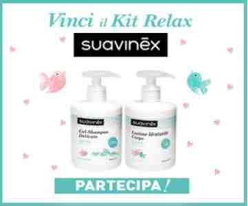 Suavinex Welcome Kit in omaggio