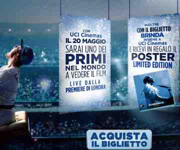 Vinci con UCI Cinemas e Rocketman