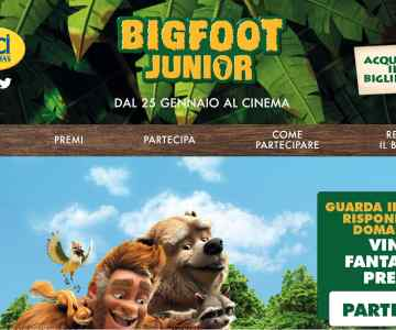 Vinci con UCI Cinemas e Bigfoot Junior