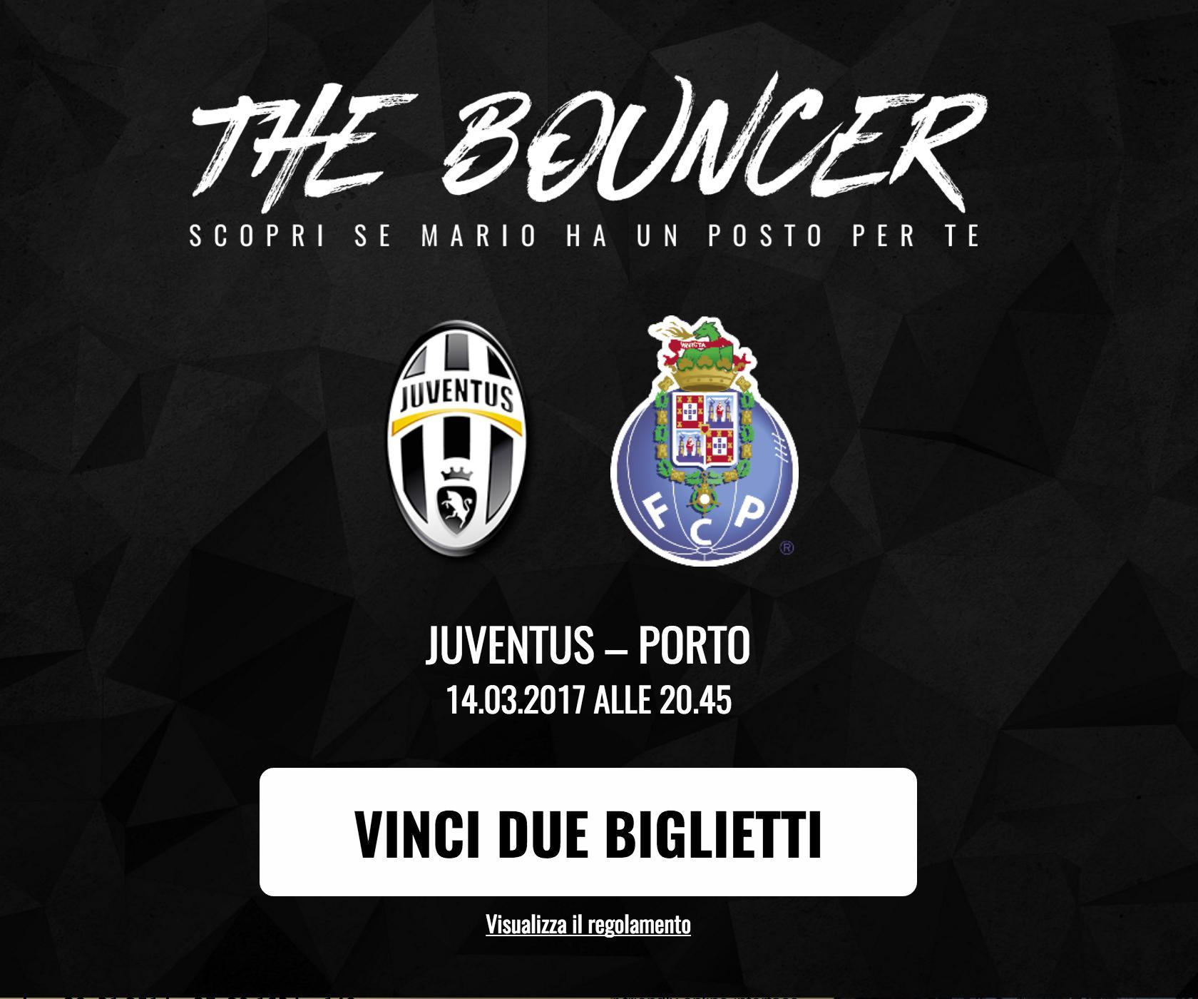 Bien-aimé Concorso a Premi Juventus FC THE BOUNCER - Premi e Concorsi XD66